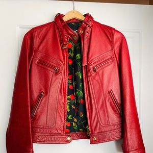 D&G leather jacket
